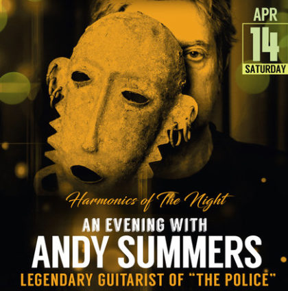 Guitarist Andy Summers