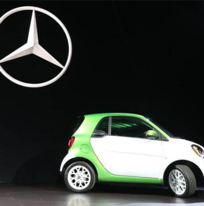 smart car by Mercedes
