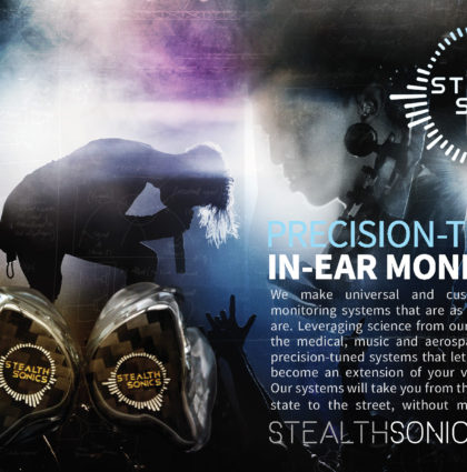 Stealth Sonics Branding & Launch