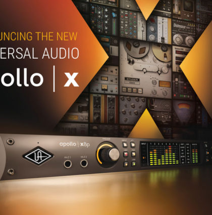 Universal Audio Apollo X Launch Event
