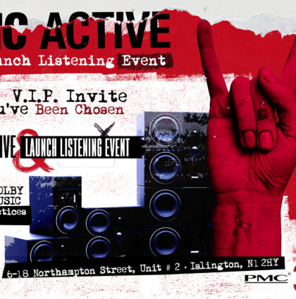 Glow Marketing Produces PMC Active Speakers Launch Events